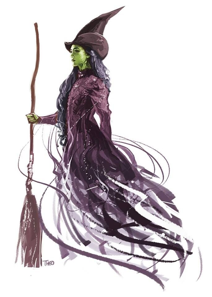 wicked the musical by wingpoltergeist.deviantart.com on @DeviantArt