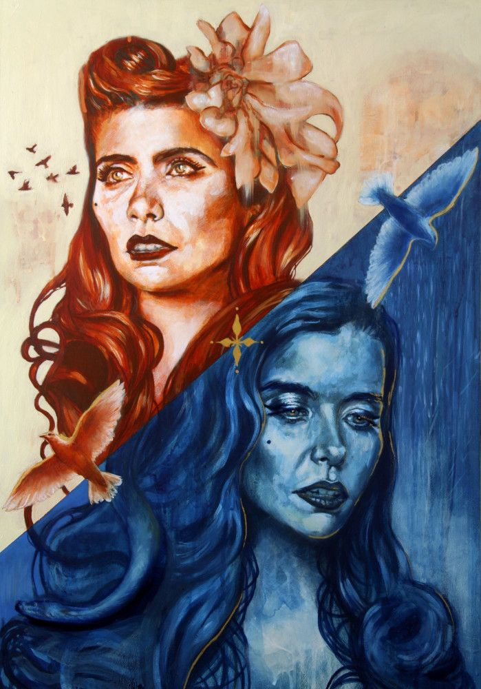 A Perfect Contradiction by Toni Cogdell, Interpretation of Paloma Faith's new album, for Talenthouse - Please give a little Vote if you like it, thank you :)