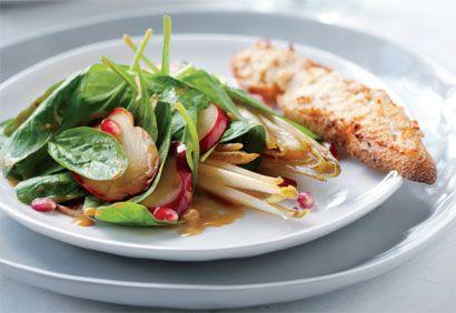 salade epinards chevre