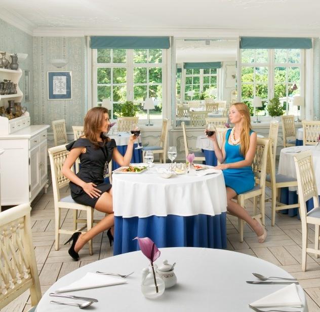 Blue Room at Dwór Oliwski Restaurant # Gdansk # Poland