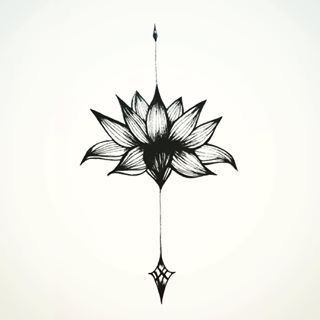 I would like this beginning at the bottom of my neck and going straight down my spine. So pretty!