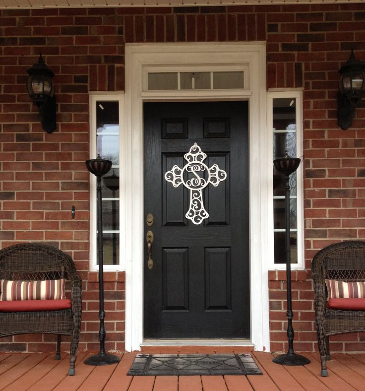 Monogram Front Door Decoration: 24 Best Images About Front Door Decorating Ideas On