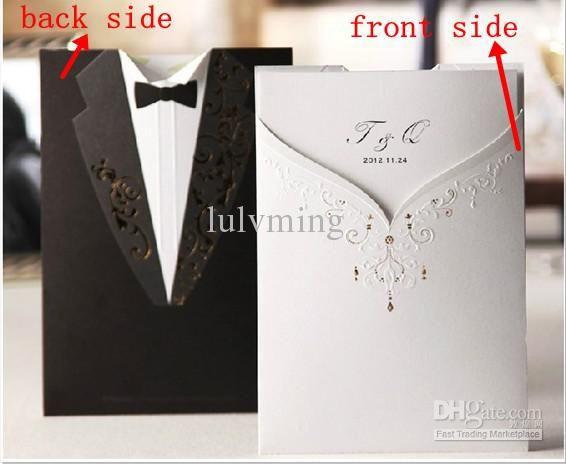 Delightfully tacky wedding invitations
