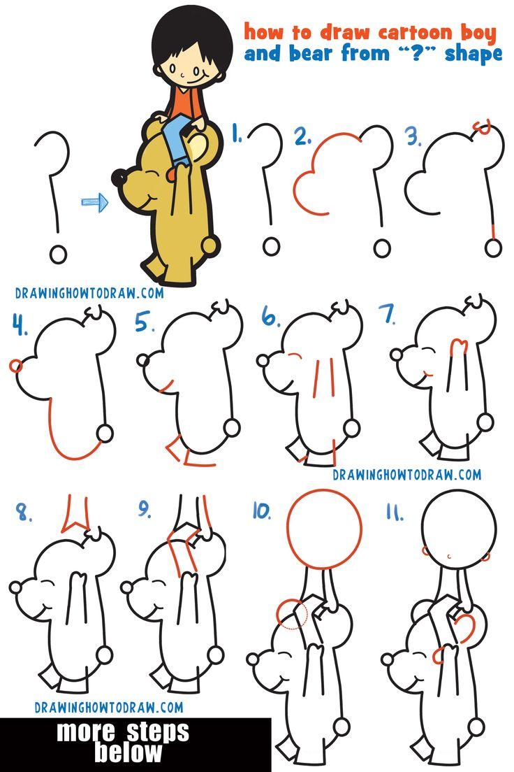 Character Design Tutorial Step By Step : Best cartoon boy trending ideas on pinterest
