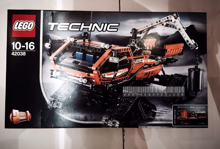 Lego Artic Truck 42038 its awesome when it support power function