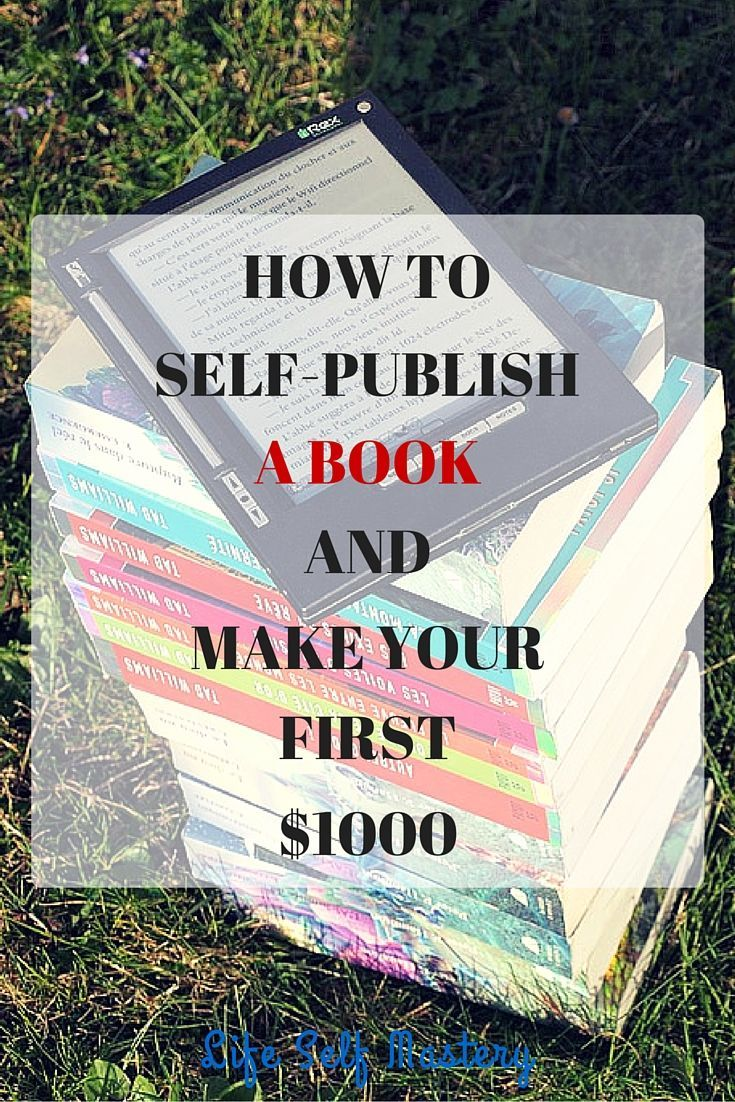 How to self-publish a book on Amazon and make your first $1000. Learn how to publish your kindle book and how to market it on Amazon.