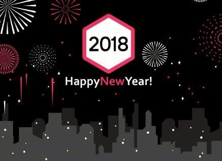 Happy New Year! 2018!  BePro Σπουδές Ομορφιάς