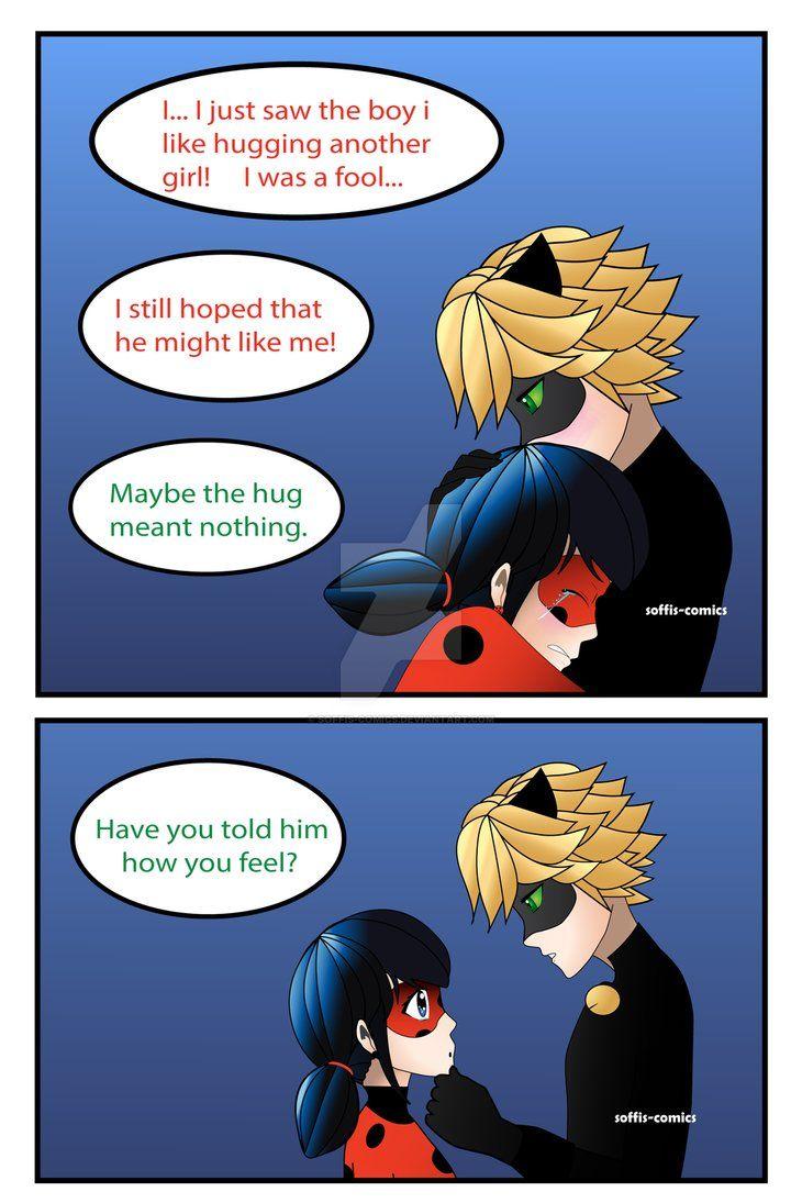 The Hug Ch 2 Pg 1 Miraculous Ladybug Comic By Soffis Comics On