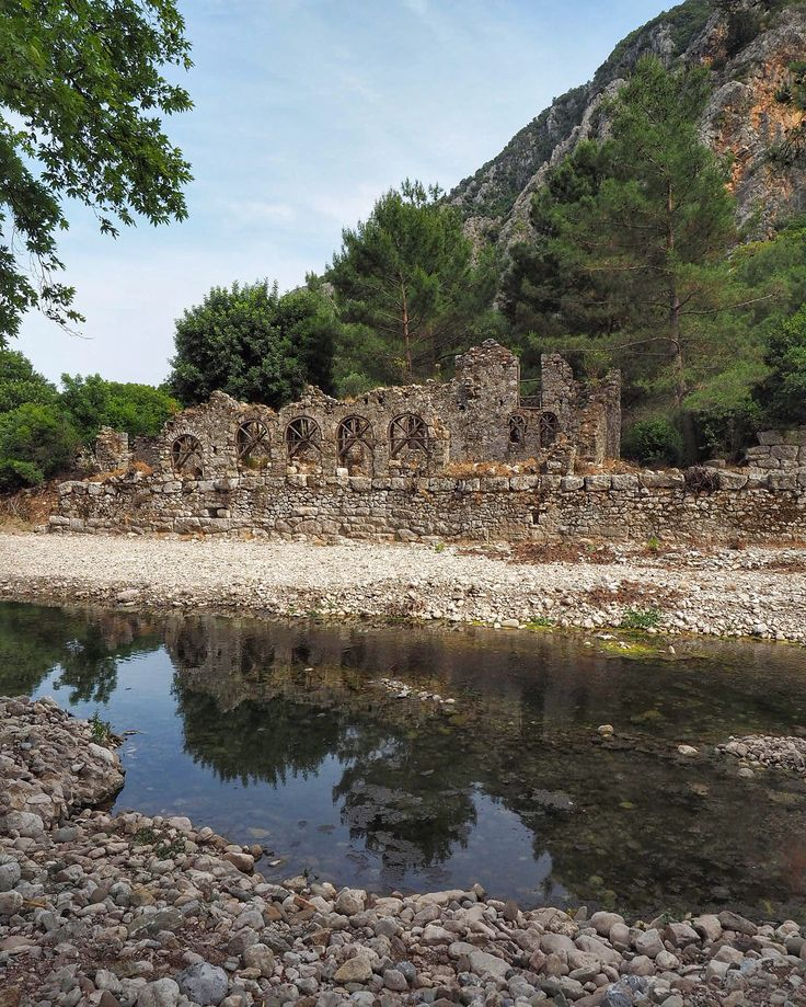 As the trek of #TalesOnTheLycianWay winds down, we pass through the stunning ruins of Olympos, home of so many #AnatolianTales of the past...