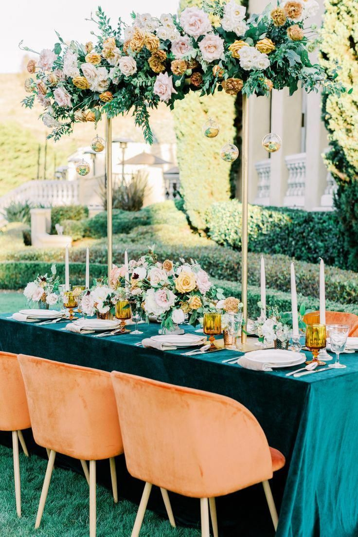 47+ Emerald green and gold wedding theme ideas in 2021