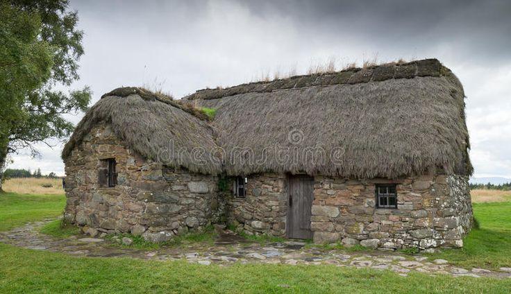 scottish stone cottage wall Ecosia in 2020 Cute little