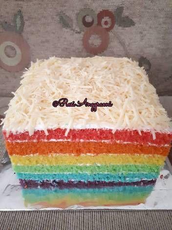 Rainbow Cake Ny. Liem | Recipe | Cake, Birthday cake ...