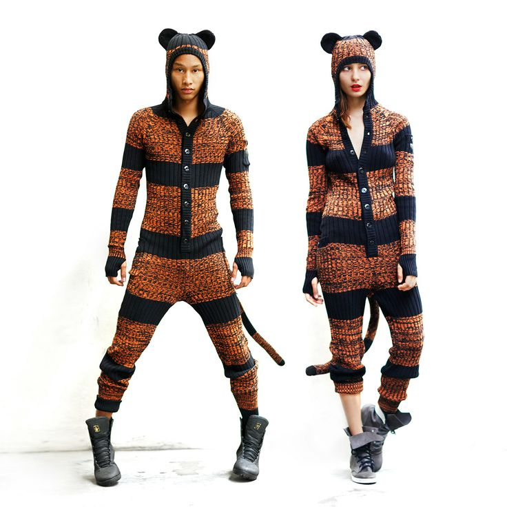 Tiger Adult Onesie for Men and Women  Designer by BlamoToys, $226.00