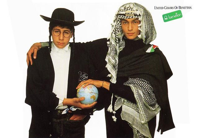 "Oliviero Toscani's legendary campaign ""The United Colors of Bennetton"""