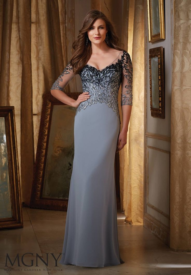 15 best mother of the bride images on Pinterest | Party wear dresses ...