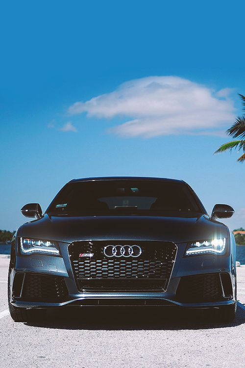 Audi RS5 Just because he's smailing...