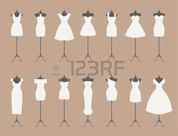 abito da sera: Little abiti bianchi