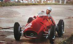 #101 Alberto Ascari (I) - Ferrari 500 (Ferrari 4) 1 (1) Scuderia Ferrari