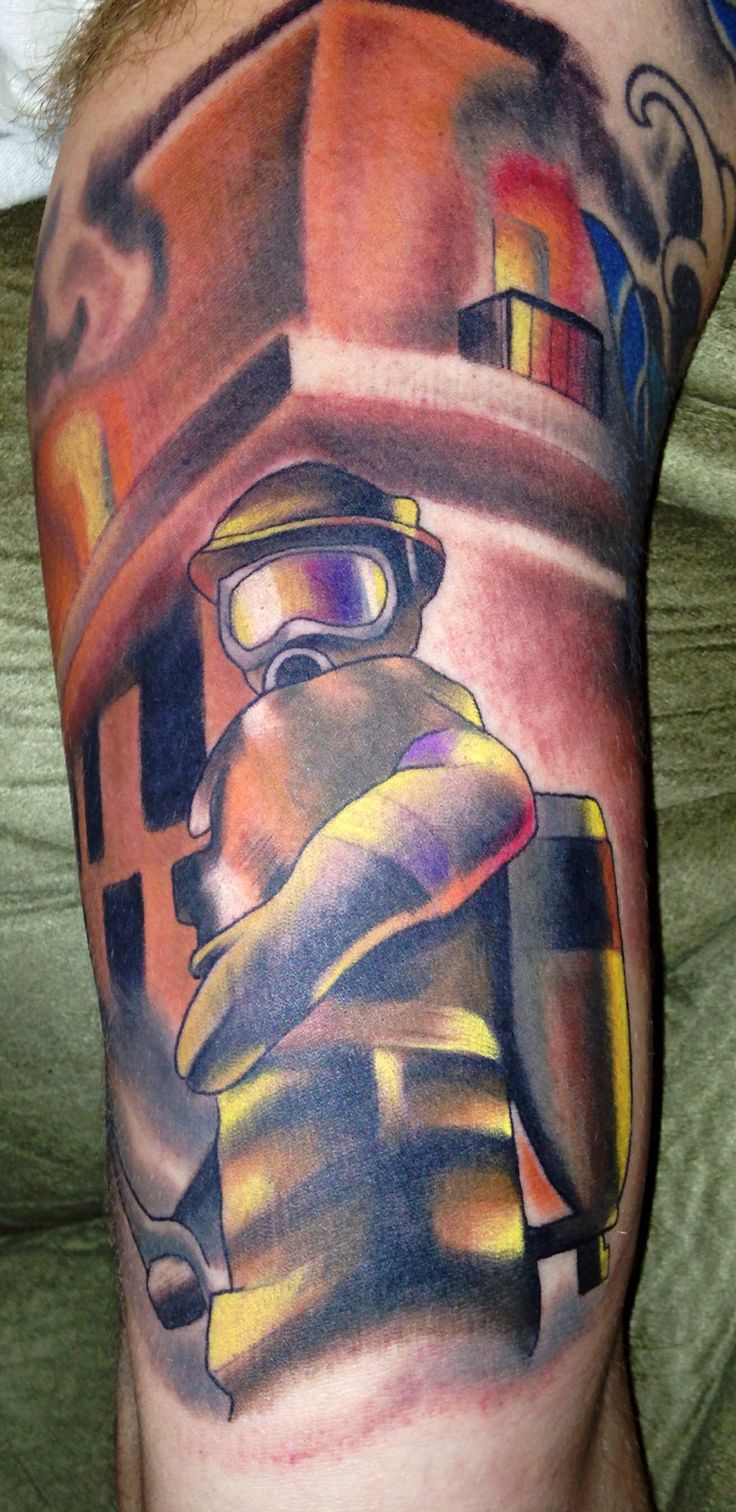 Fire fighter follow me tattoo tyler pinterest