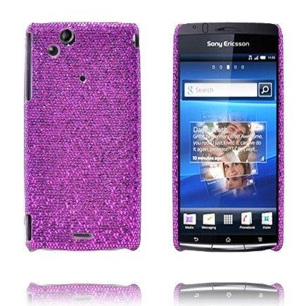 Victoria (Lilla) Sony Ericsson Xperia Arc Deksel