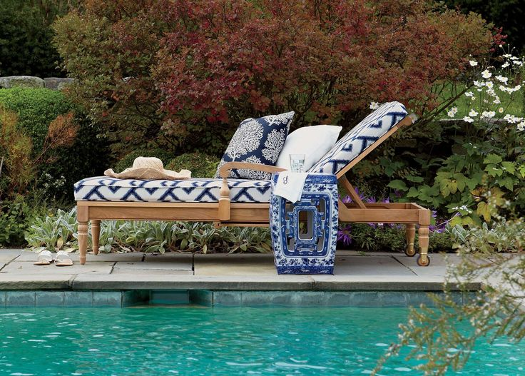 Ethan Allen Outdoor Furniture. Pierced Garden Seat