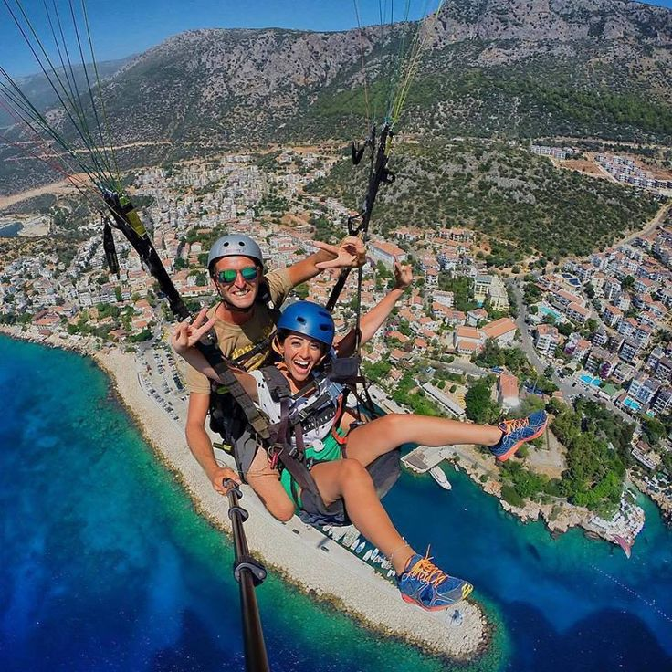 Are you ready to fly through the clouds like a bird or explore the depths of the sea amidst the indescribable beauty of Kaş?  #TurkeyHome #Antalya