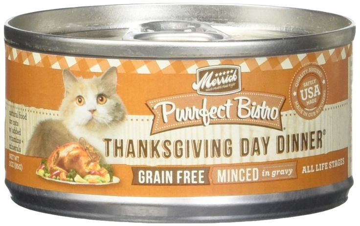 Merrick Purrfect Bistro Grain Free Thanksgiving Day Dinner Canned Cat Food, 3 oz., Case of 24 >>> Discover this special cat product, click the image : Best Cat Food
