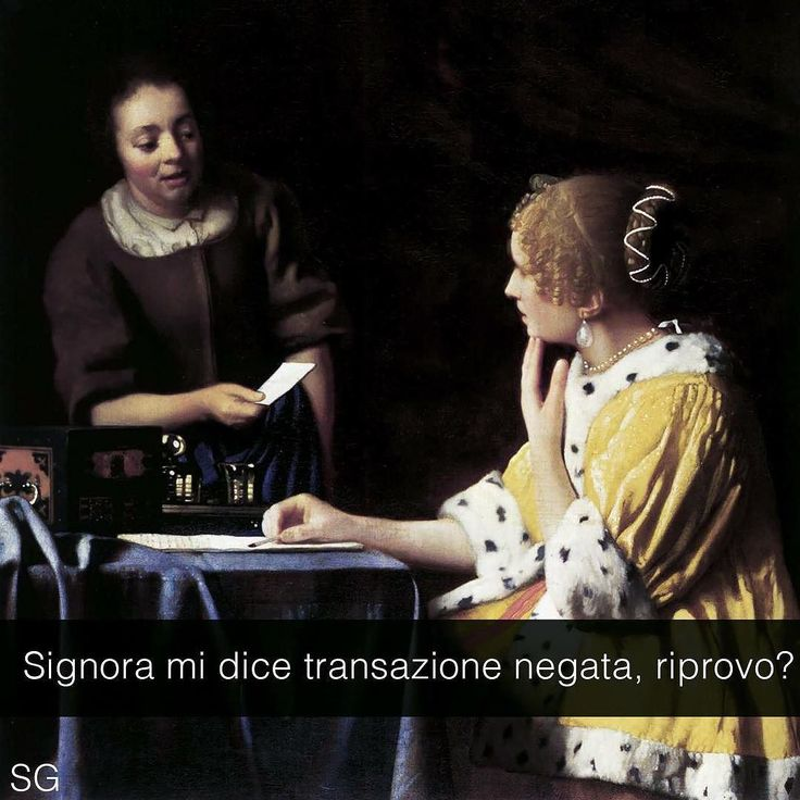 snapchat: stefanoguerrera Donna con la serva che tiene una lettera in mano - Johannes Vermeer (1667) #seiquadripotesseroparlare #stefanoguerrera