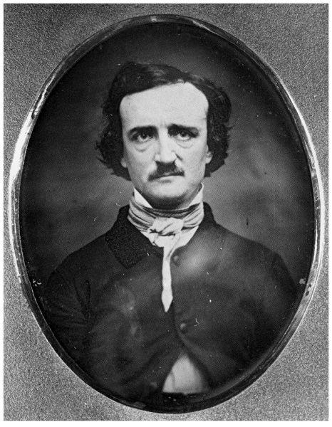 Daguerreotype of Edgar Allen Poe - 1848