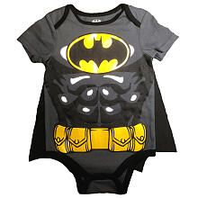 Batman Black T Shirt with Cape  Infant/Toddler