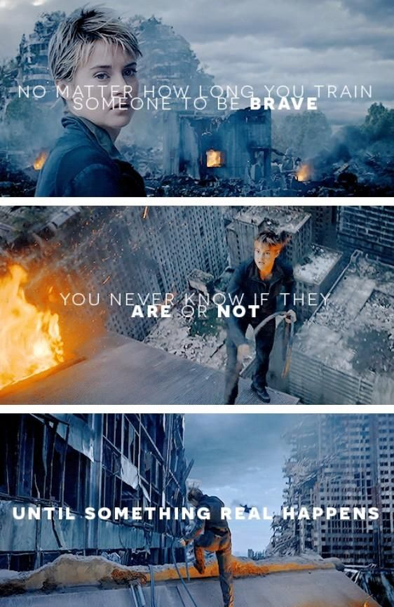 Insurgent was such an AMAZING book and  I liked the movie but it just wasn't insurgent.