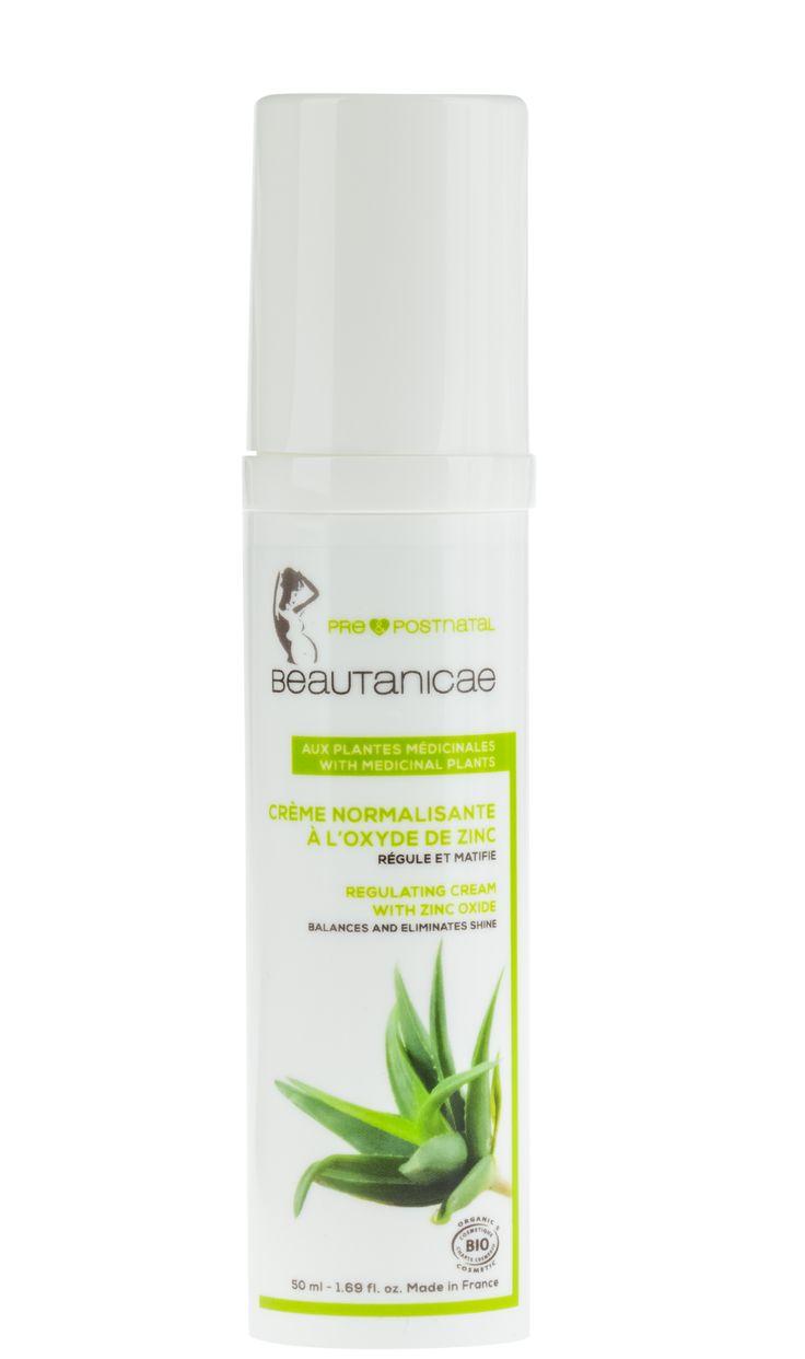 Doux Good - Beautanicae - Creme visage normalisante à l'oxyde de zinc pour femme enceinte