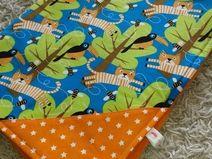 Tigerstarke Babydecke mit Namen