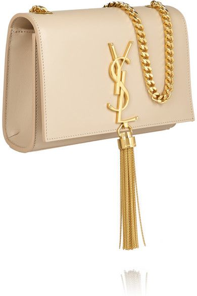 This nude leather YSL shoulder bag might just replace my long ...