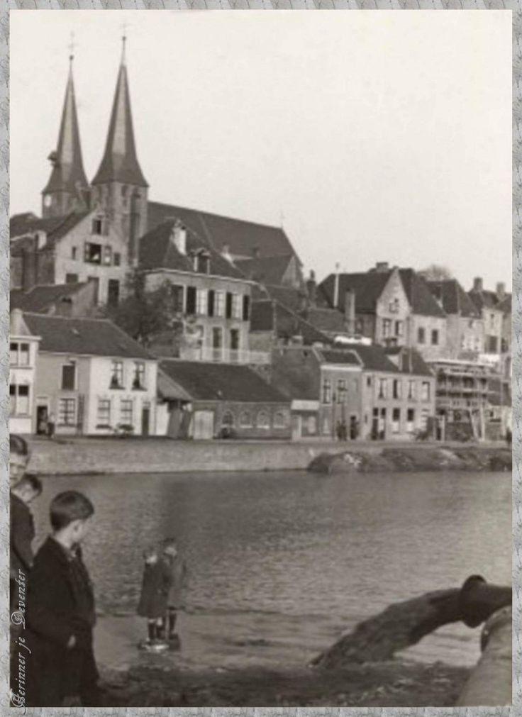 1934 Dempen van de Oude haven. Deventer
