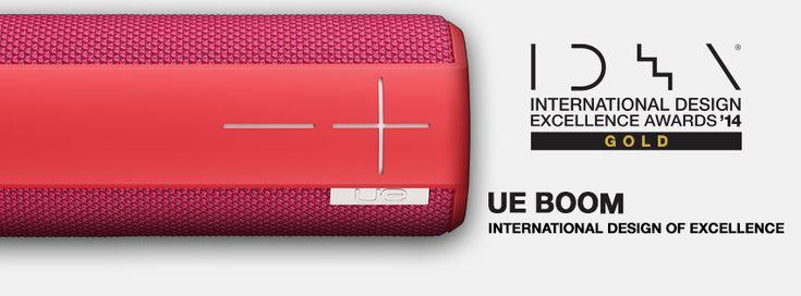 #UEBOOM Wins Gold International Design Excellence Award!