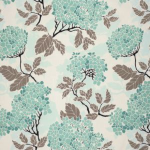 Joel Dewberry - Birch Farm Home Dec Sateen - Hydrangea in Egg Blue