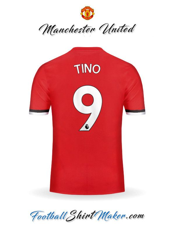 Camiseta Manchester United 2017/2018 Tino 9