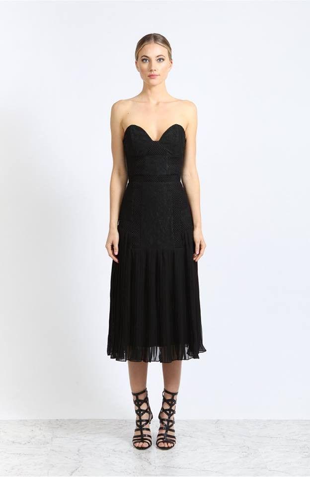 Elliatt - Dominion Dress- Black