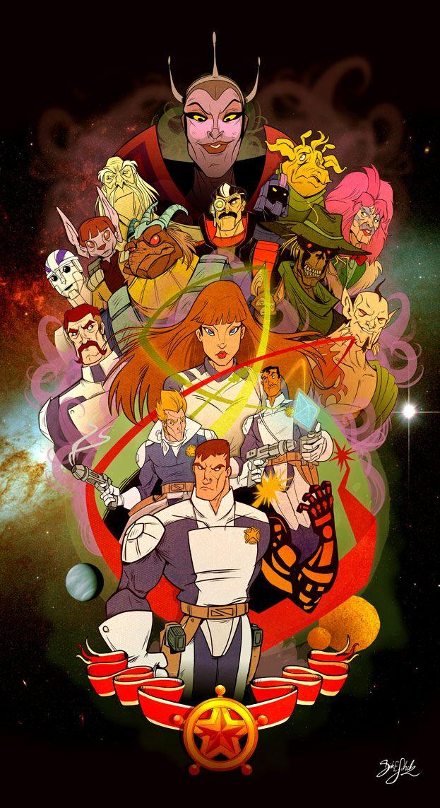Galaxy Rangers Collab by Themrock on deviantART