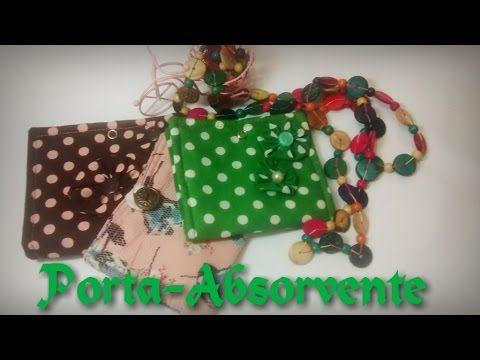 Porta Absorvente de Tecido - Tutorial de Costura Por: Dayse Costa - YouTube