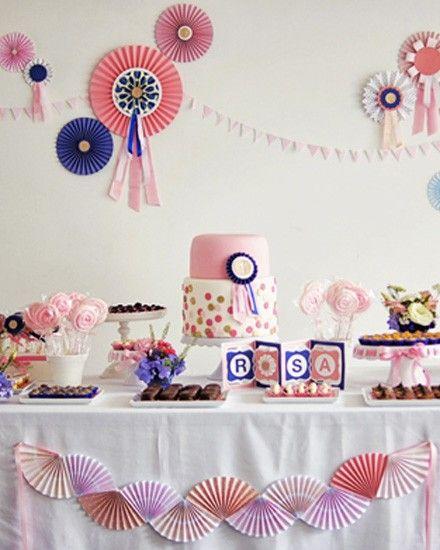 Shake My Blog | Un anniversaire en bleu et rose