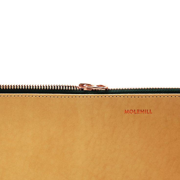 BROMO Natural Clutch 11'' | Molehill | molehillgoods.com