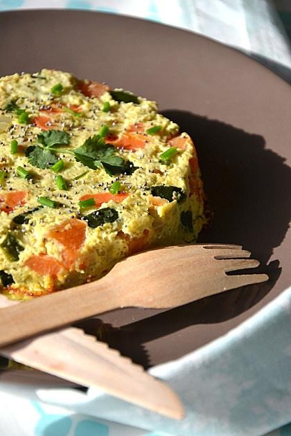 Flans de légumes à l'indienne { lait de coco, épices & coriandre }  http://www.lesrecettesdejuliette.fr