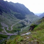 A Road to the Clouds. Crossing the Alps of Transylvania