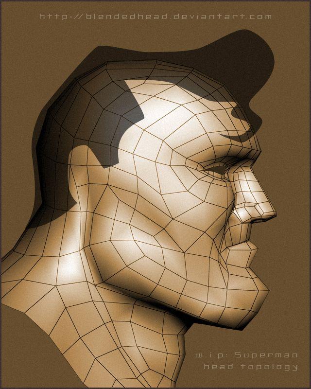 superman w.i.p. by ~blendedhead on deviantART