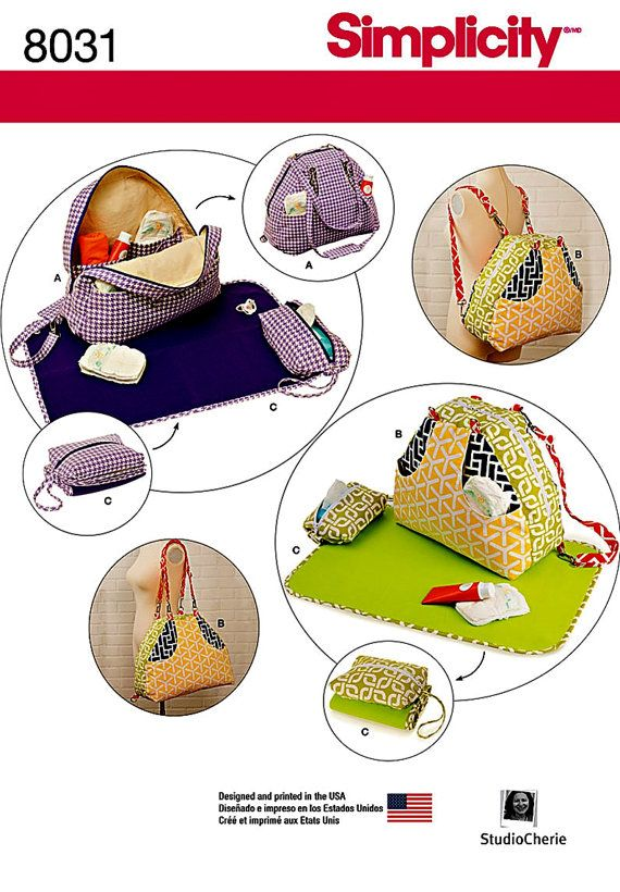 Cloth Diaper Bags Pattern  Backpack Diaper Bag Pattern  by blue510