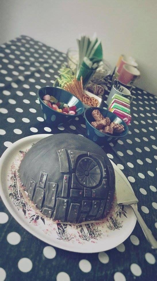 Star Wars cake, 7th birthday, Death Star