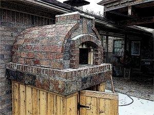 Как построить печь для пиццы - Pinkbird
