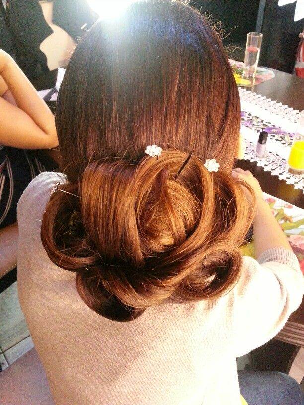 Bridesmaid Hairstyle 2